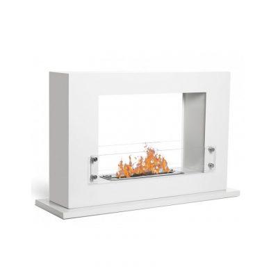Athena moderna biopejs til gulv hvid